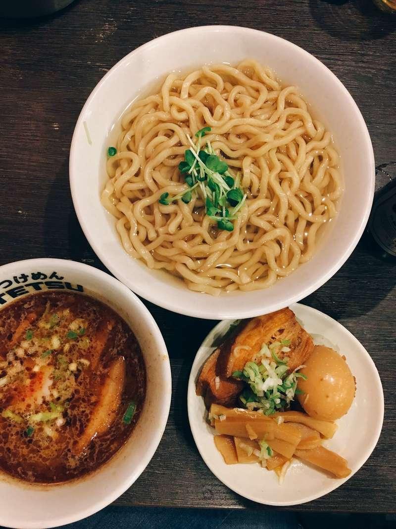Testsu Tsukemen - best tsukemen in Tokyo - guide to restaurants