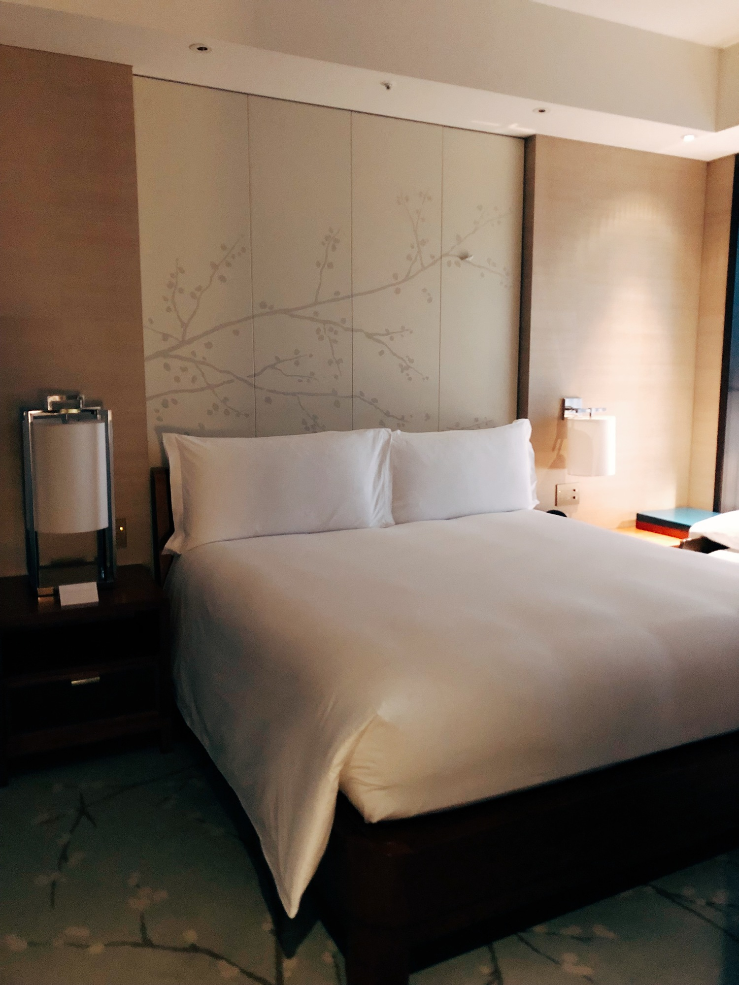 Conrad hotel Tokyo - king suite with view - luxury family travel