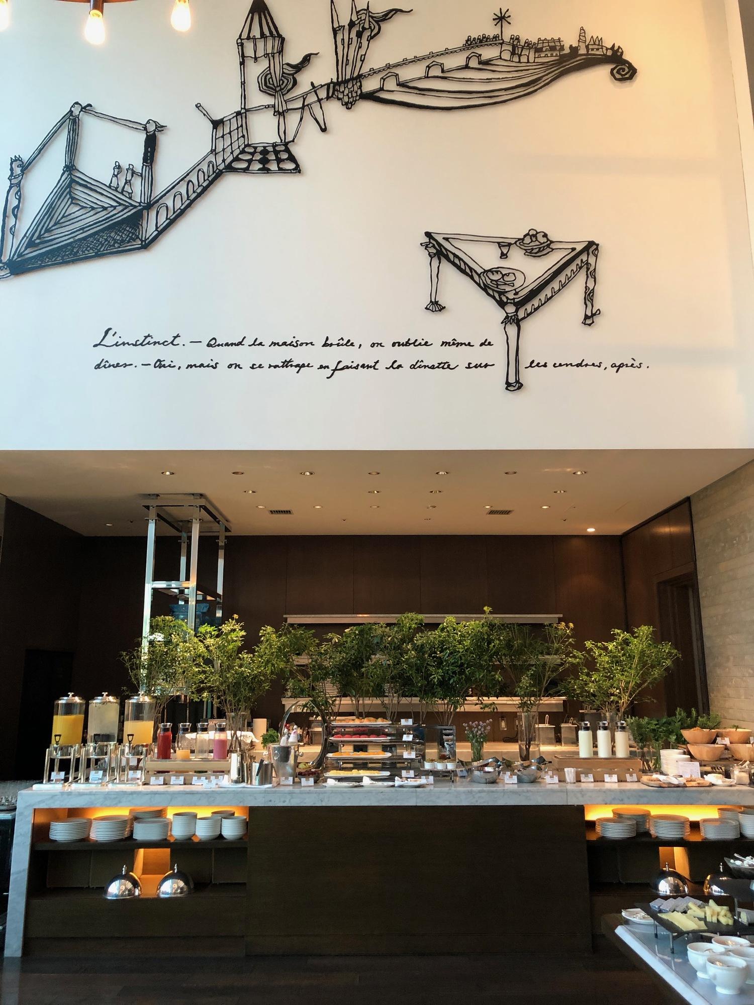 Breakfast buffet at Cerise