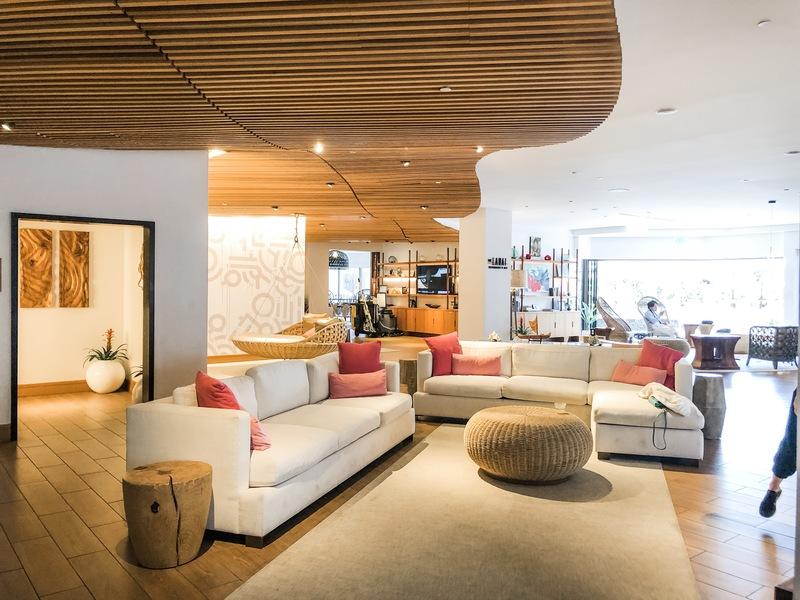Review of Hyatt Centric Waikiki - new family-friendly hotel - lobby
