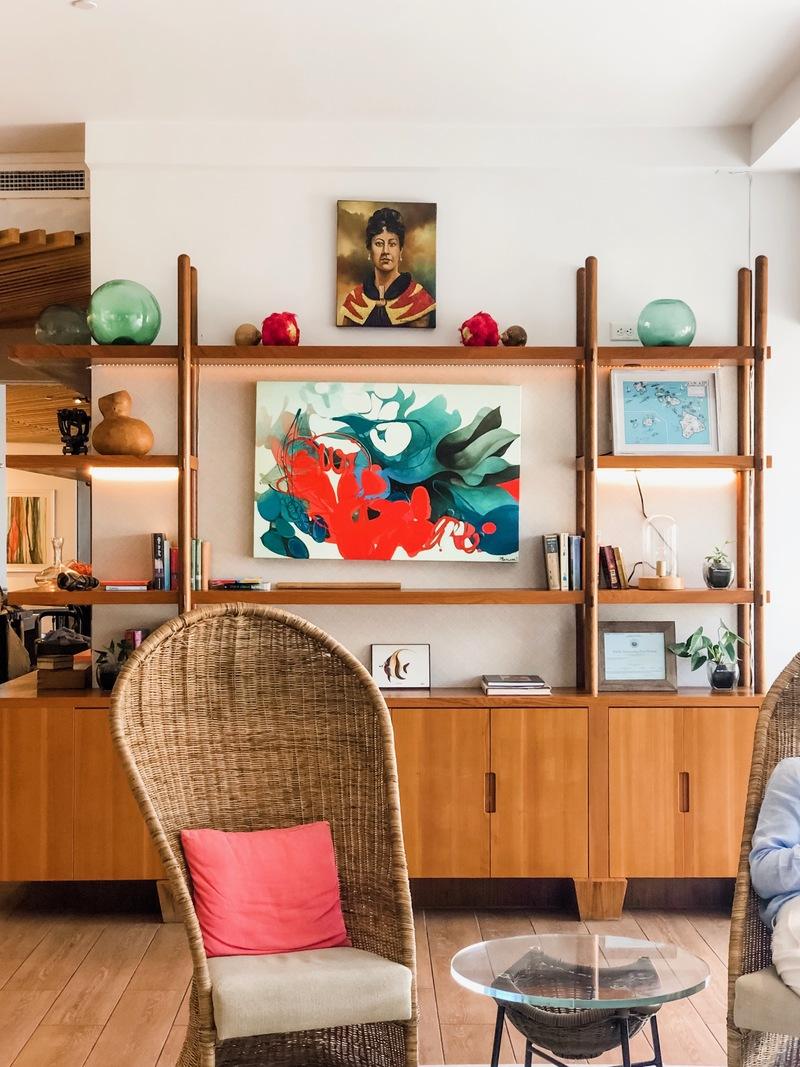 Stylish Hawaiian modern decor