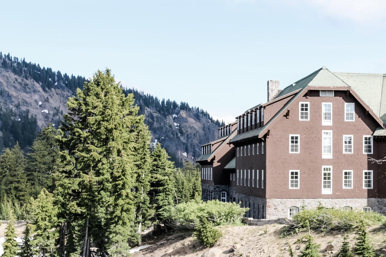 Crater Lake Lodge.