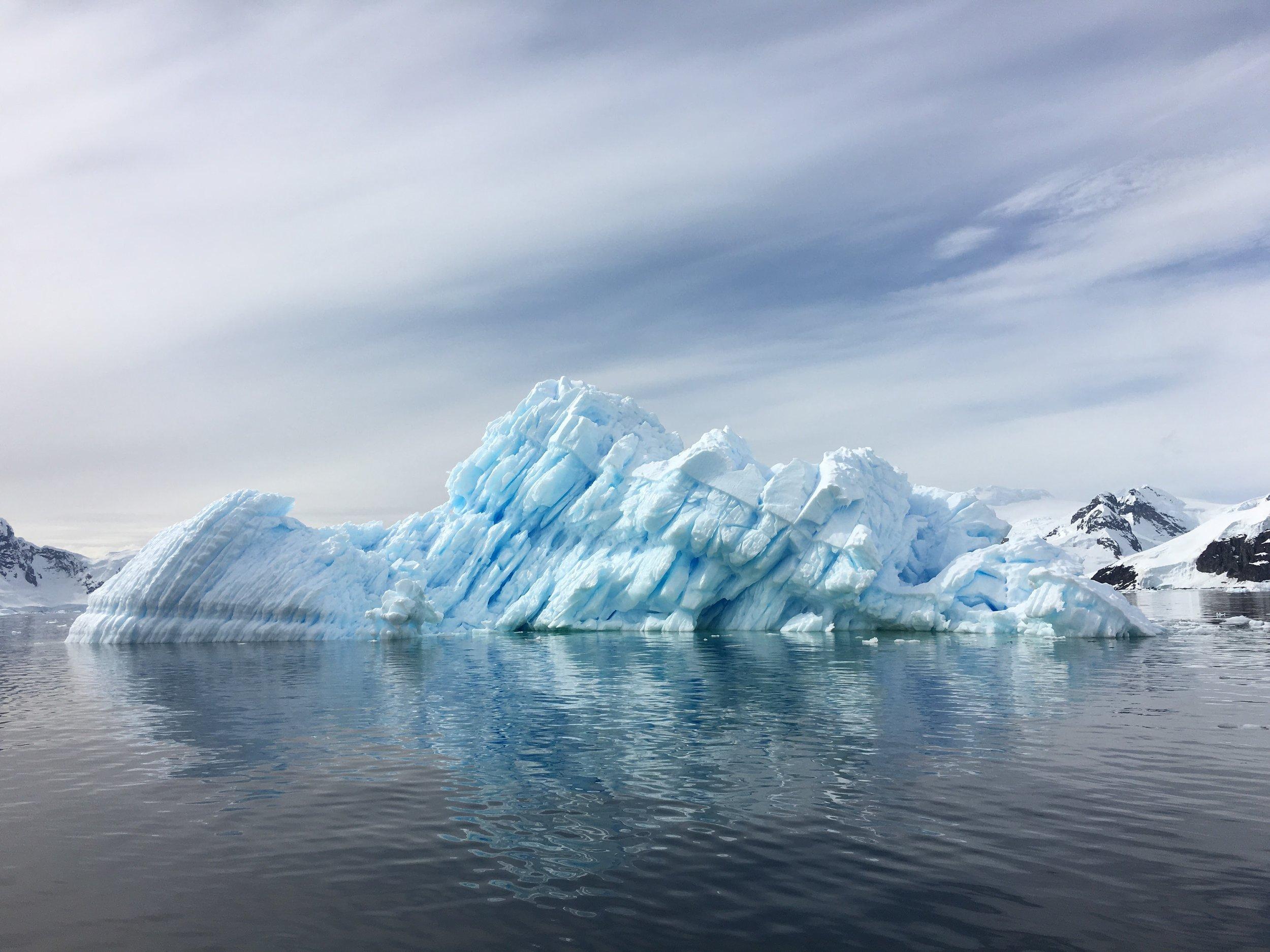 Luxury Expedition to Antarctica - Abercrombie & Kent luxury expedition tour on the all-balcony Le Lyrial ship