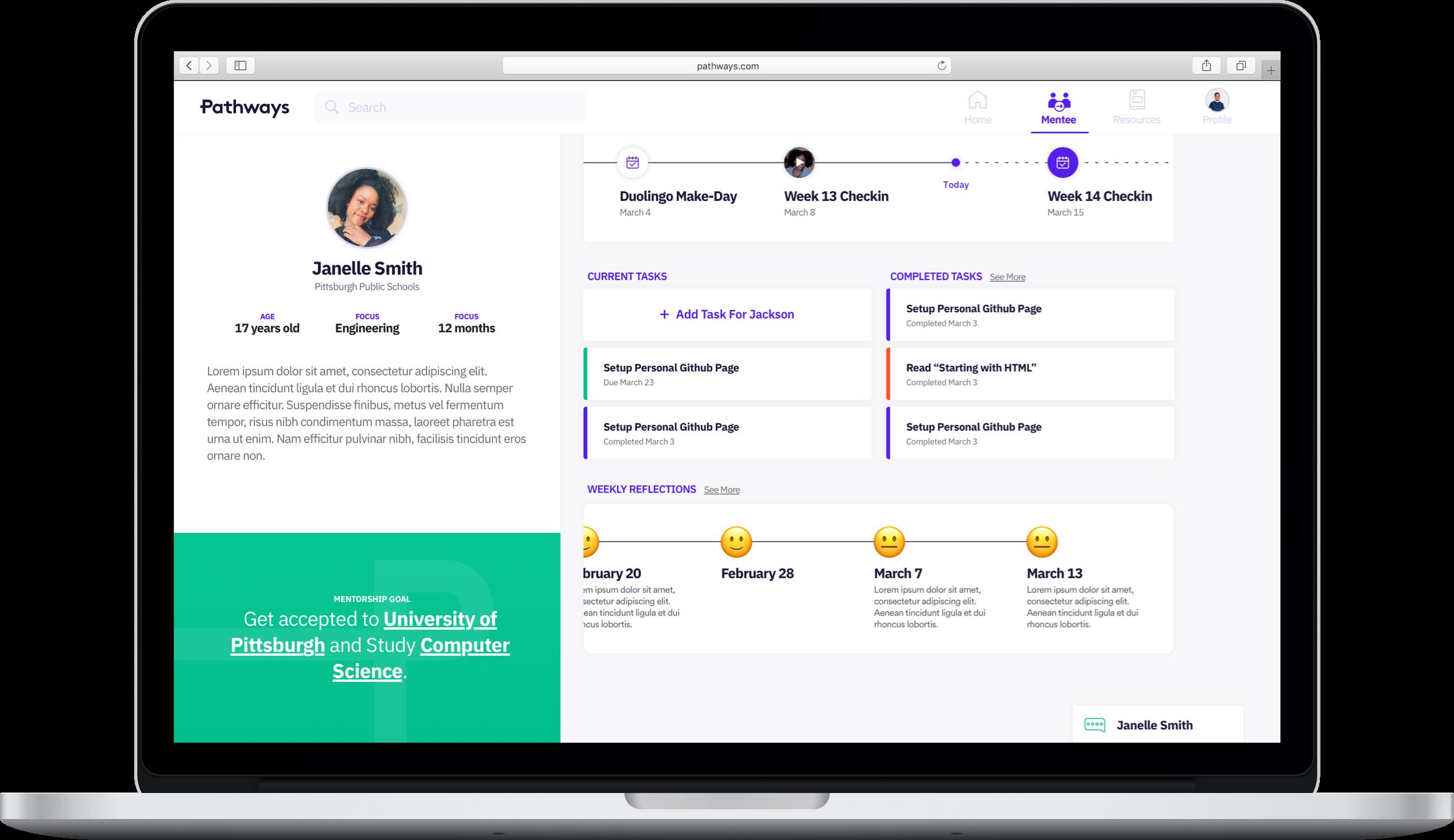 mentor platform