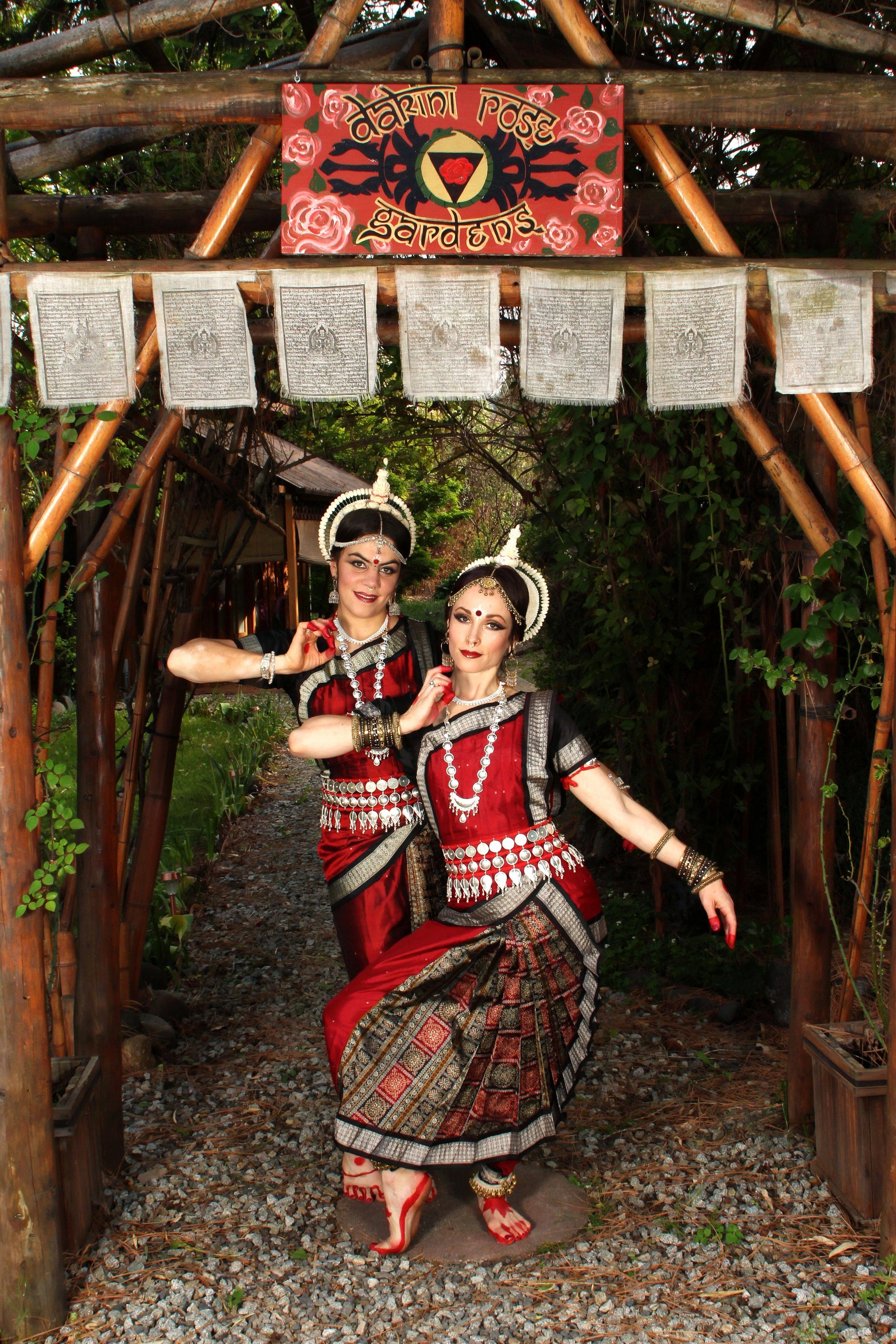 Dakini Rose Devadasi (Ruth Rhiannon & Monique Trinity Rose)