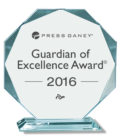 2016 Guardian of Excellence Award