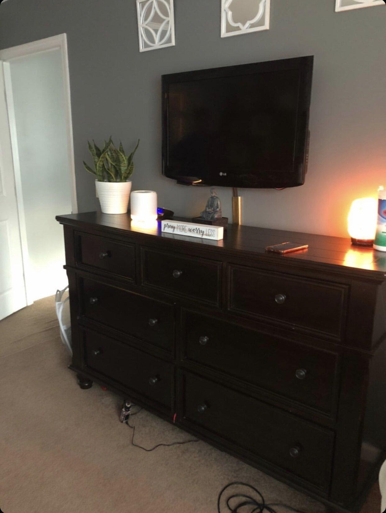 Chalk Paint Bedroom Set Makeover For Client Jessica Diana Schlichtman