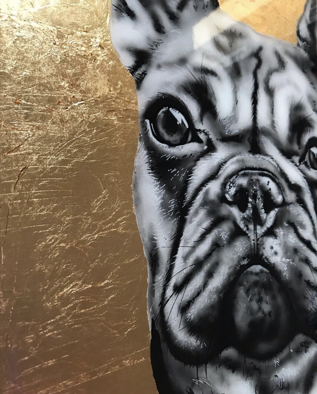 French Bulldog Painting 4