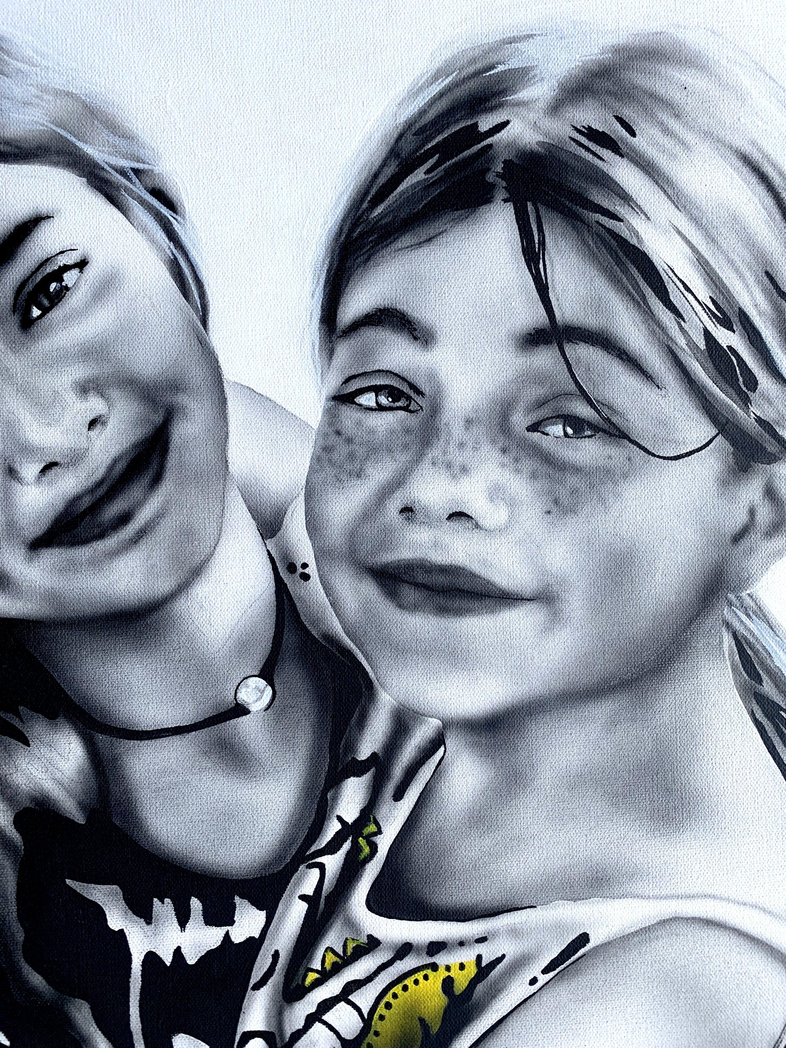 portrait of sisters 3