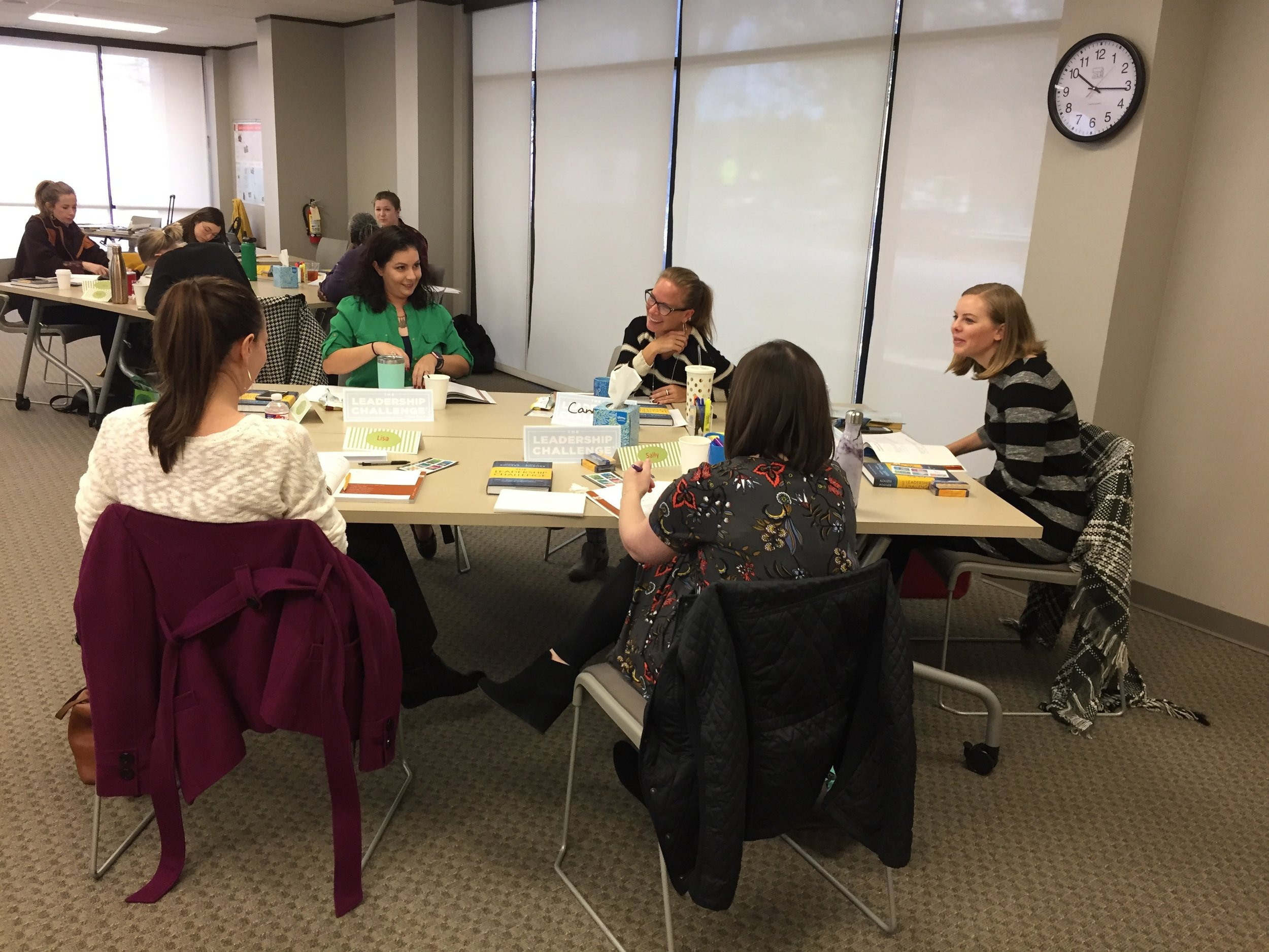 Masters Give Back Workshop at Children's Advocacy Center, Houston, TX