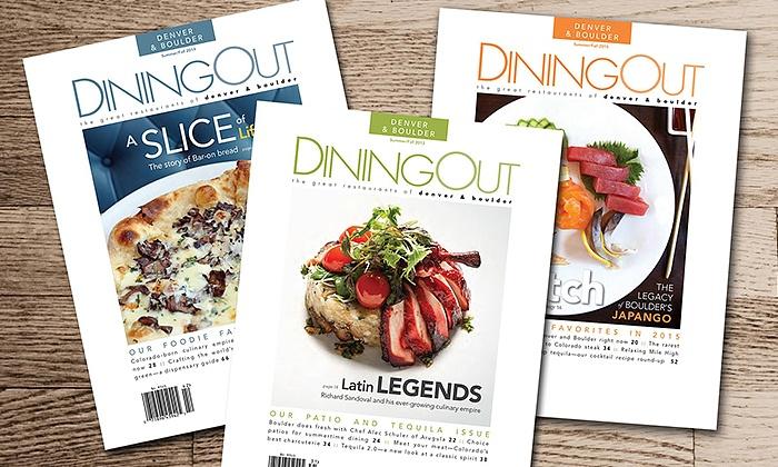 - Dining Out Magazine: Denver & BoulderContributions: (Click links for articles)Hard Rock Cafe Denver: World Burger TourThe Rockies Burger