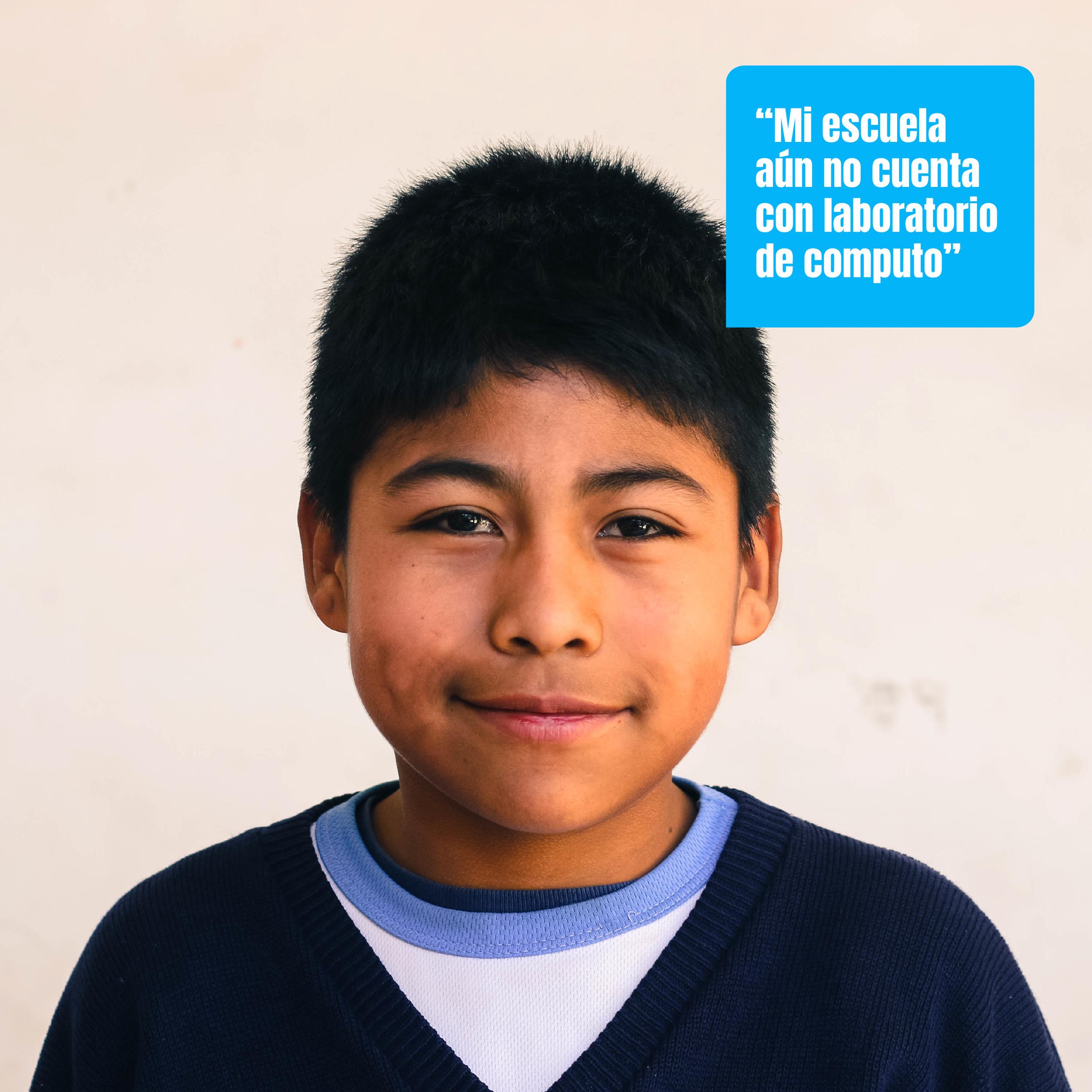 Hoy en Guatemala, hay más de 18,000 escuelas primarias públicas, de las cuales aproximadamente un 90% no tienen acceso a la tecnología.
