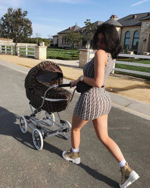 Okay Kylie, we get it. You're rich.