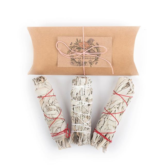 3 pack of white sage available on amazon prime!! $15.99 free shipping ! Comment on this post when you purchase and I'll send you a free gift 🌸