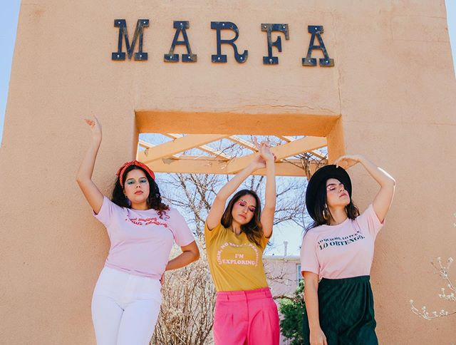 Missing my #LatinaGang & Marfa, TX! Who's in your #BossBabe gang?