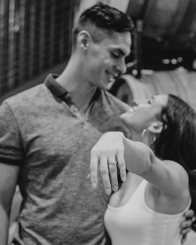 •Efrain + Joelle• Congratulations to my cousin, @efragarcia & his beautiful fiancé, @joellecubero. You've always been a part of our family, but we can't wait to make it official.
