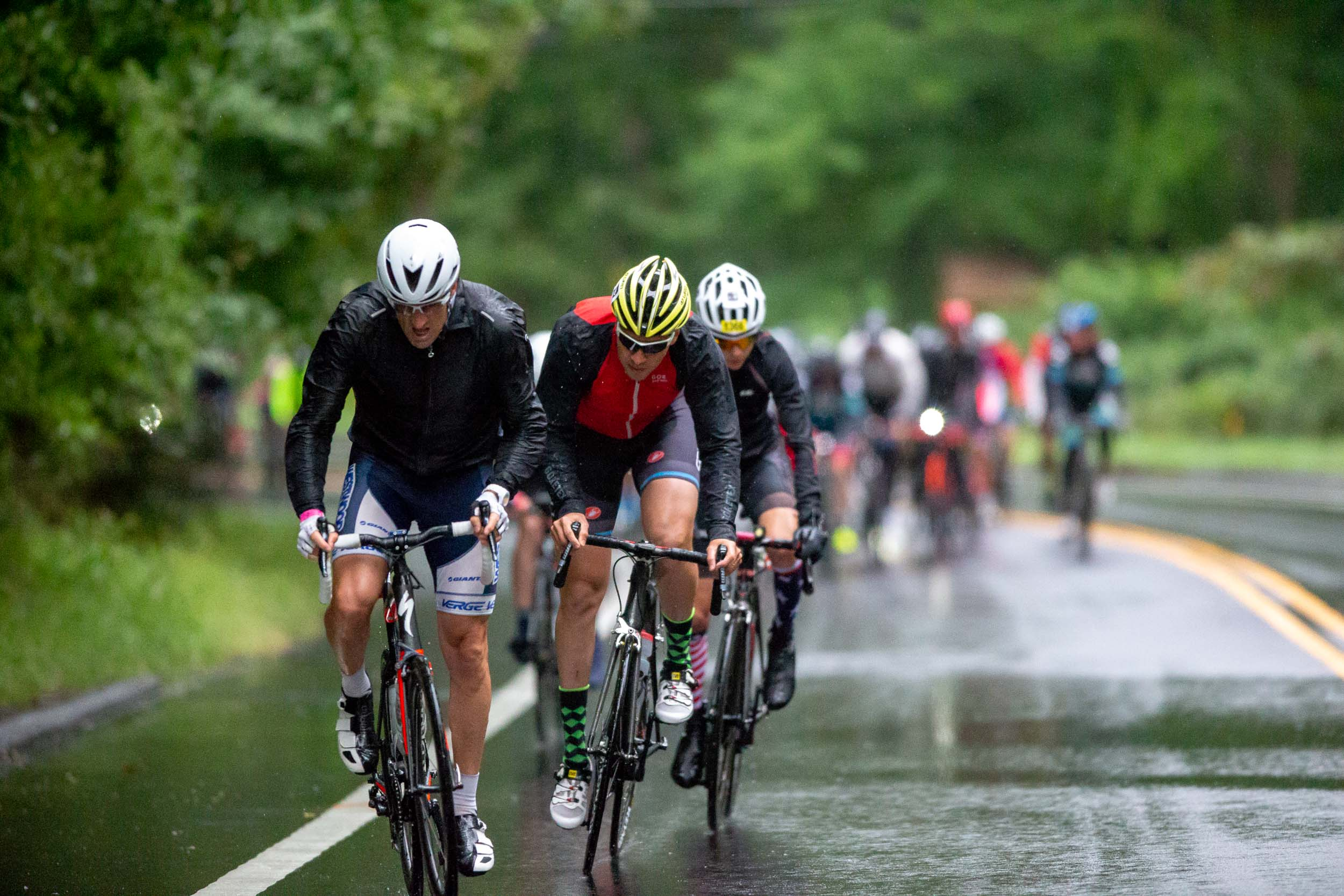 The rainy, cold and glorious 2018 edition brought the best out of riders working together.