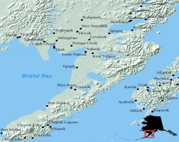 The communities of Bristol Bay.