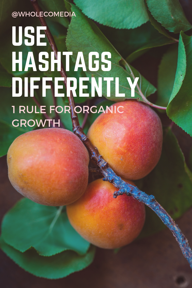 THIS is how to grow Instagram followers: Use Hashtags Differently.