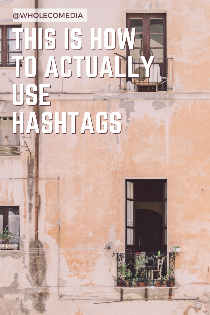 Using Hashtags to grow your business.