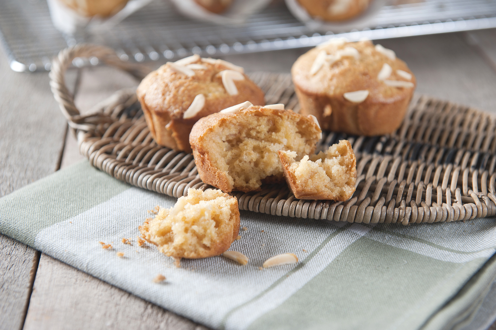 Pear & Almond Muffins