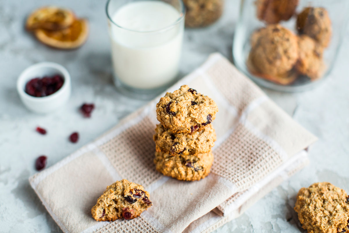 Chewy Oat & Raisin Biscuits