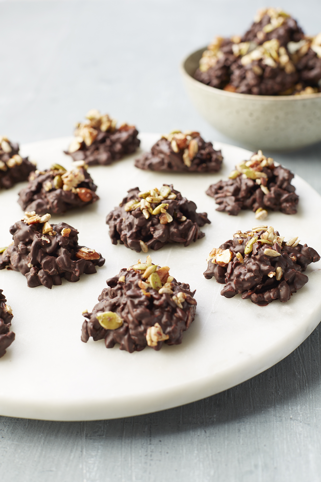 Chocolate Nut & Seed Clusters