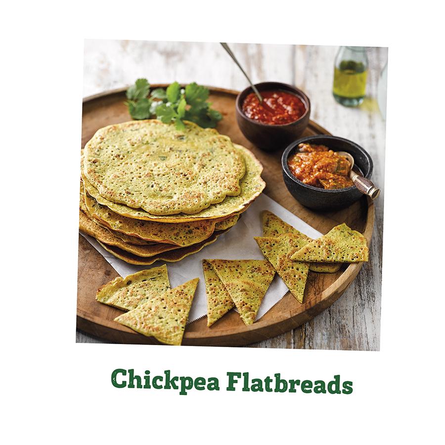 Chickpea Flatbreads