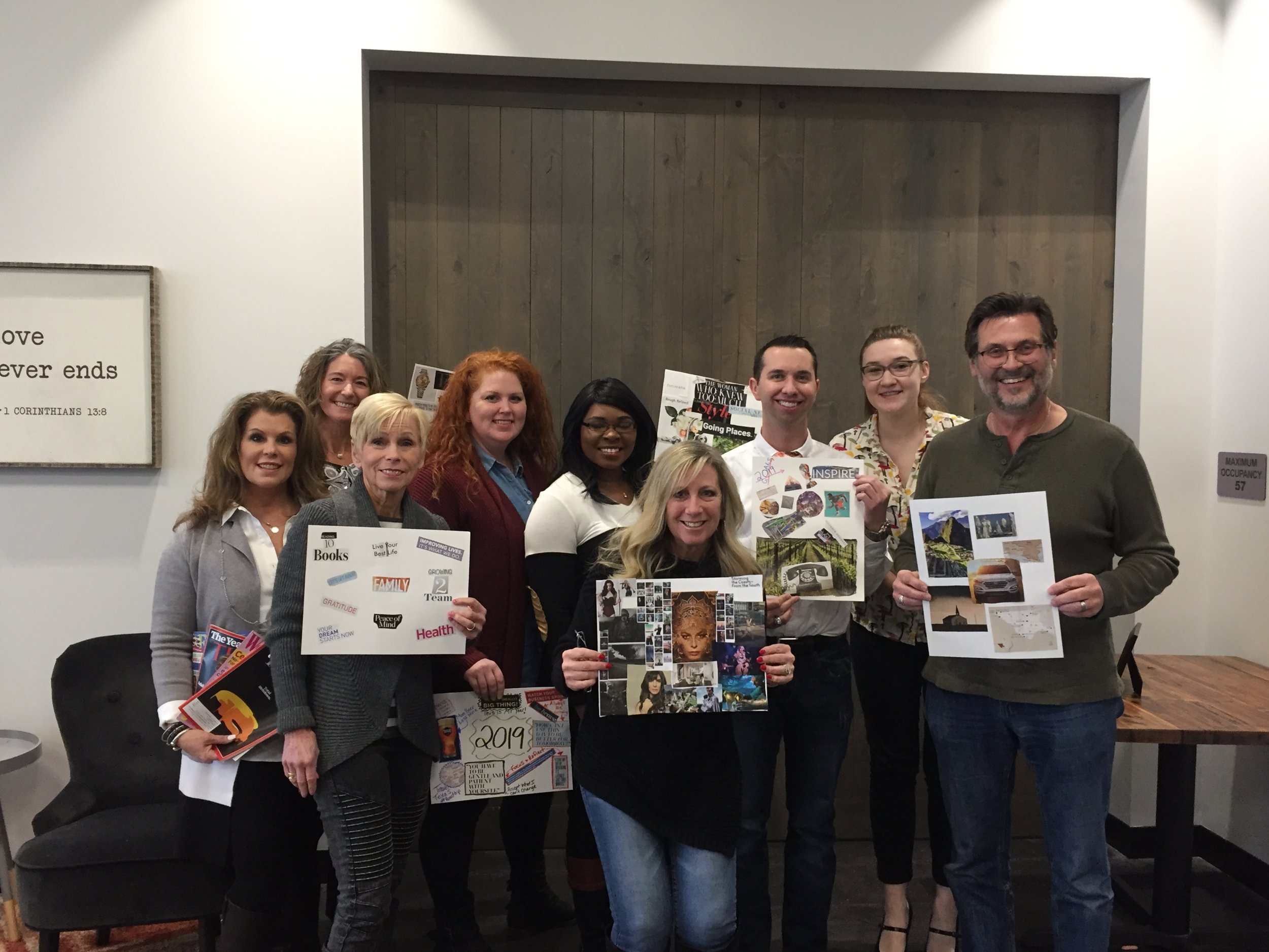 Goal Setting & Vision Board Workshop by Out of the box, LLC