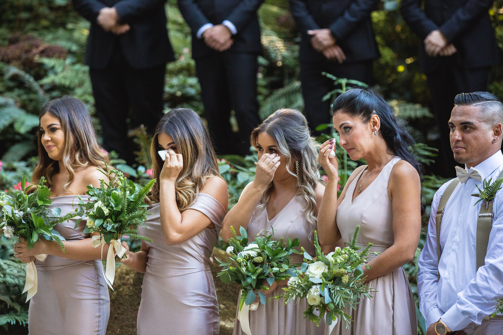 Someone was cutting onions during the vows.