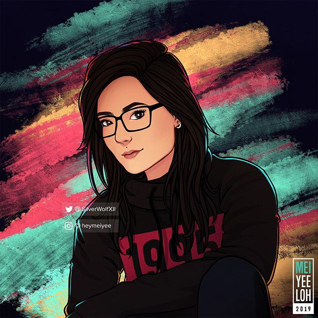 Um... hi everyone... new profile pic? 🙈 . #art #illustration #digitalart #newprofilepic