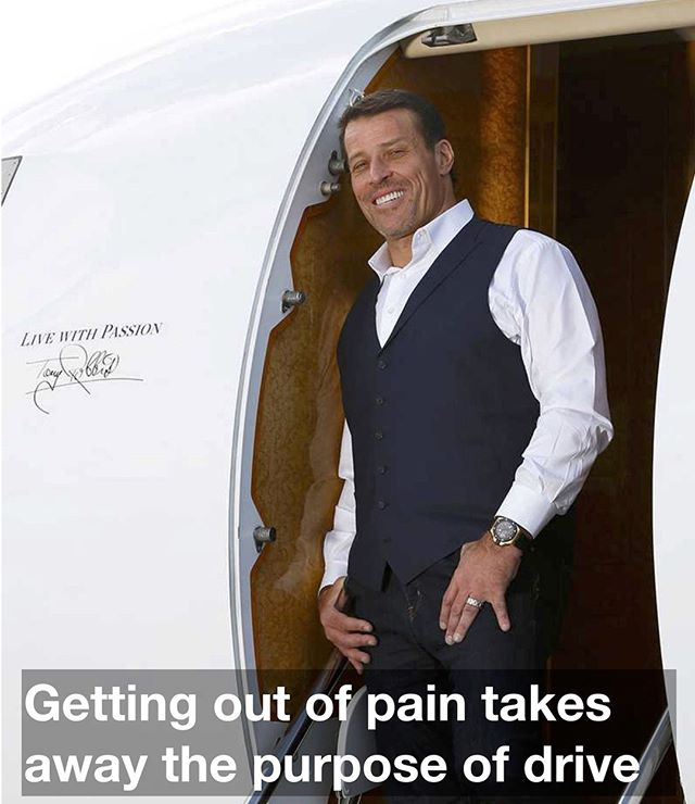 Few look forward to pain, but it's effective. Comment if you agree! ⠀ ⠀ ⠀ ⠀ ⠀ ⠀ ⠀ ⠀ #tonyrobbins #success #inspiration #career ⠀ #lifequotes #lifequote #happiness #hustle #sayings #life #positivity #realityquotes #accomplishment #smartness #technologies ⠀ business #genius #success #startup #entrepreneurship #life #positivity #success #nevergiveup #quotesoftheday #quotestags #selfcare #selflove #lawofattraction