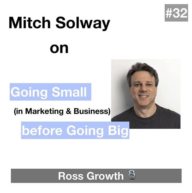 If you are serious about your career you need to listen to this interview...⠀ I'm chatting with Mitch Solway about how to approach your ideal job and be successful in it.⠀ ⠀ If you don't know Mitch, he's been a VP of Marketing in a ton of tech companies like Lavalife, FreshBooks, Vidyard, ClearFit and FundThrough.⠀ ⠀ We also cover things like:⠀ ⠀ 👉What's it like to market a dating service back in 1993⠀ 👉Setting the right focus & goals in marketing strategy⠀ 👉What is the role of a fractional CMO⠀ ⠀ Get the link to my interview in the bio.⠀ ⠀ Would love to hear wht you guys think!⠀ ⠀ ⠀ #podcast #podcastguests #marketing #newepisode #career #positivity #nevergiveup  #lifestory #mystory #podcasts #growth #personalgrowth #businessgrowth #dreamjob #personaldevelopment #careergrowth #selfrealization #knowingyourself #motivation #happiness #life #positivity #nevergiveup #lawofattraction #lifestory