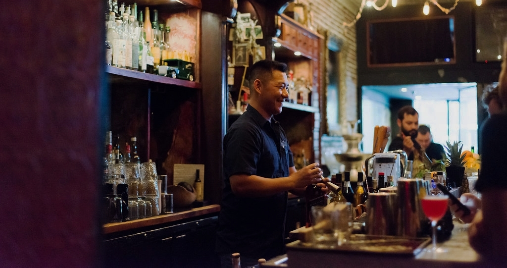 Picture of the Courtesy bar Orlando