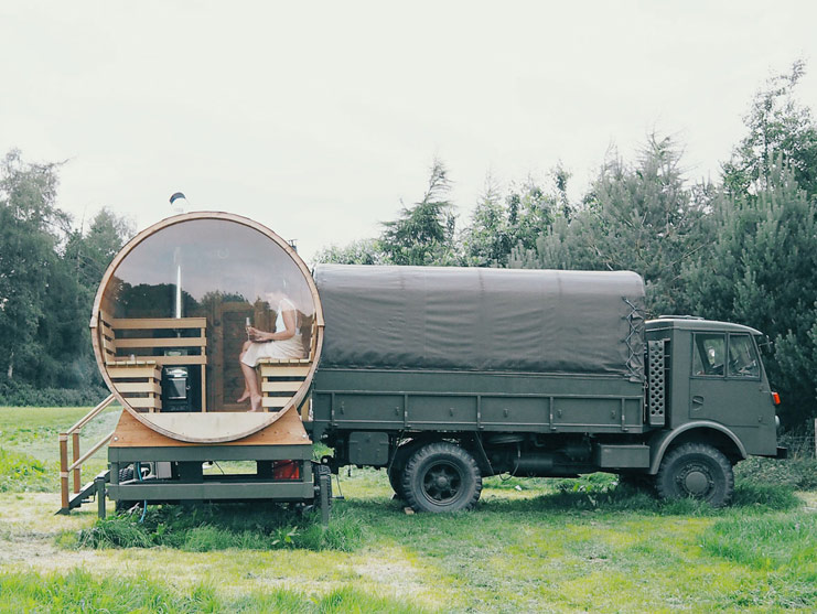 LARCHFIELD ESTATE - GLAMPING LISBURN, IRELAND