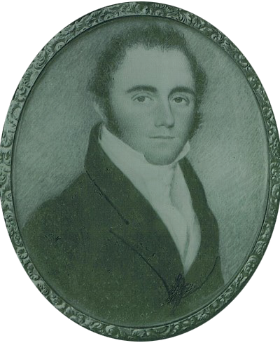 Artist unknown, Captain Andrew Haig (1793-1871), watercolour on ivory portrait miniature (private collection, present location unknown)