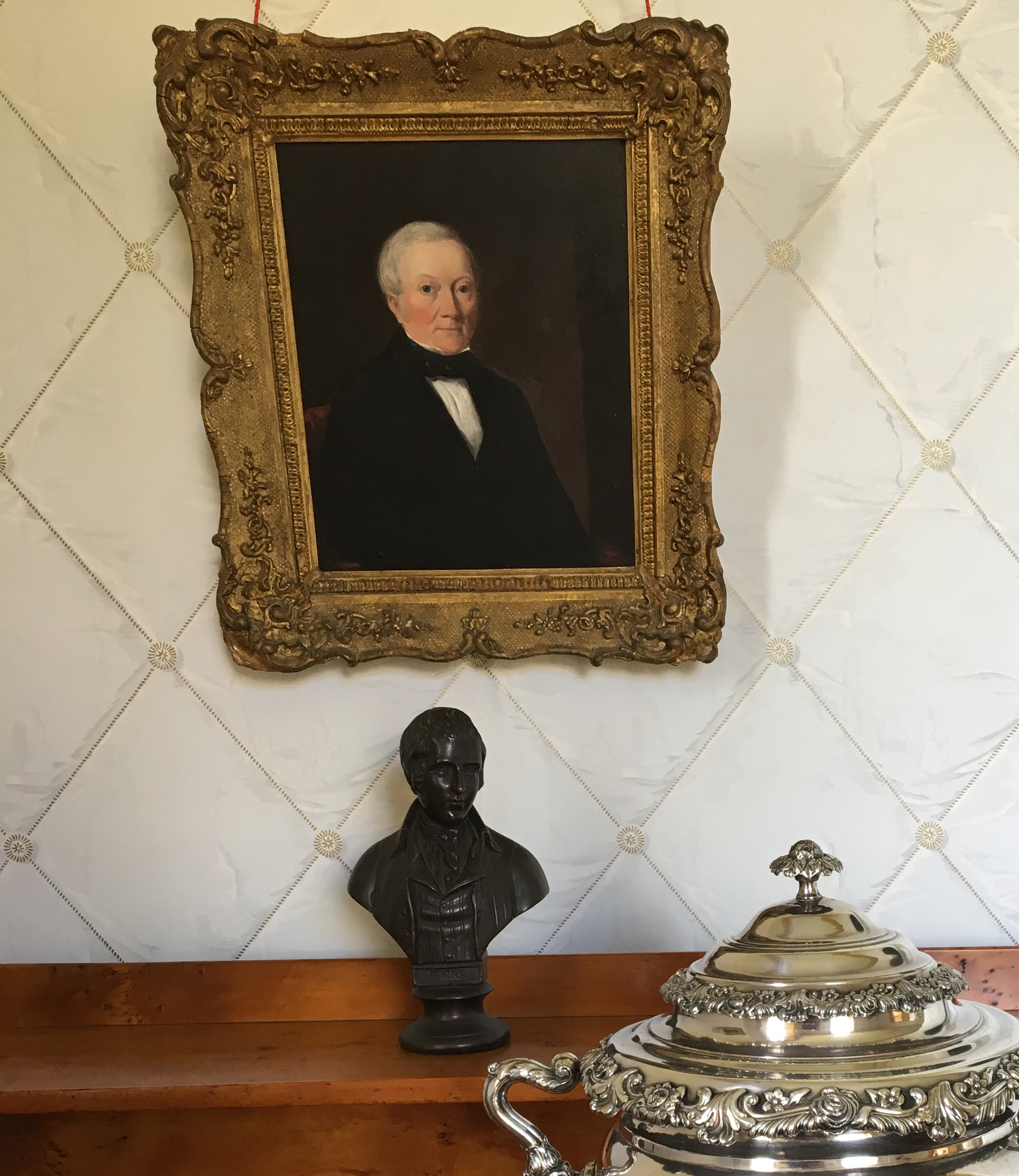 Artwork - Narryna's art collection features portraits by British and Tasmanian 19th century artists.