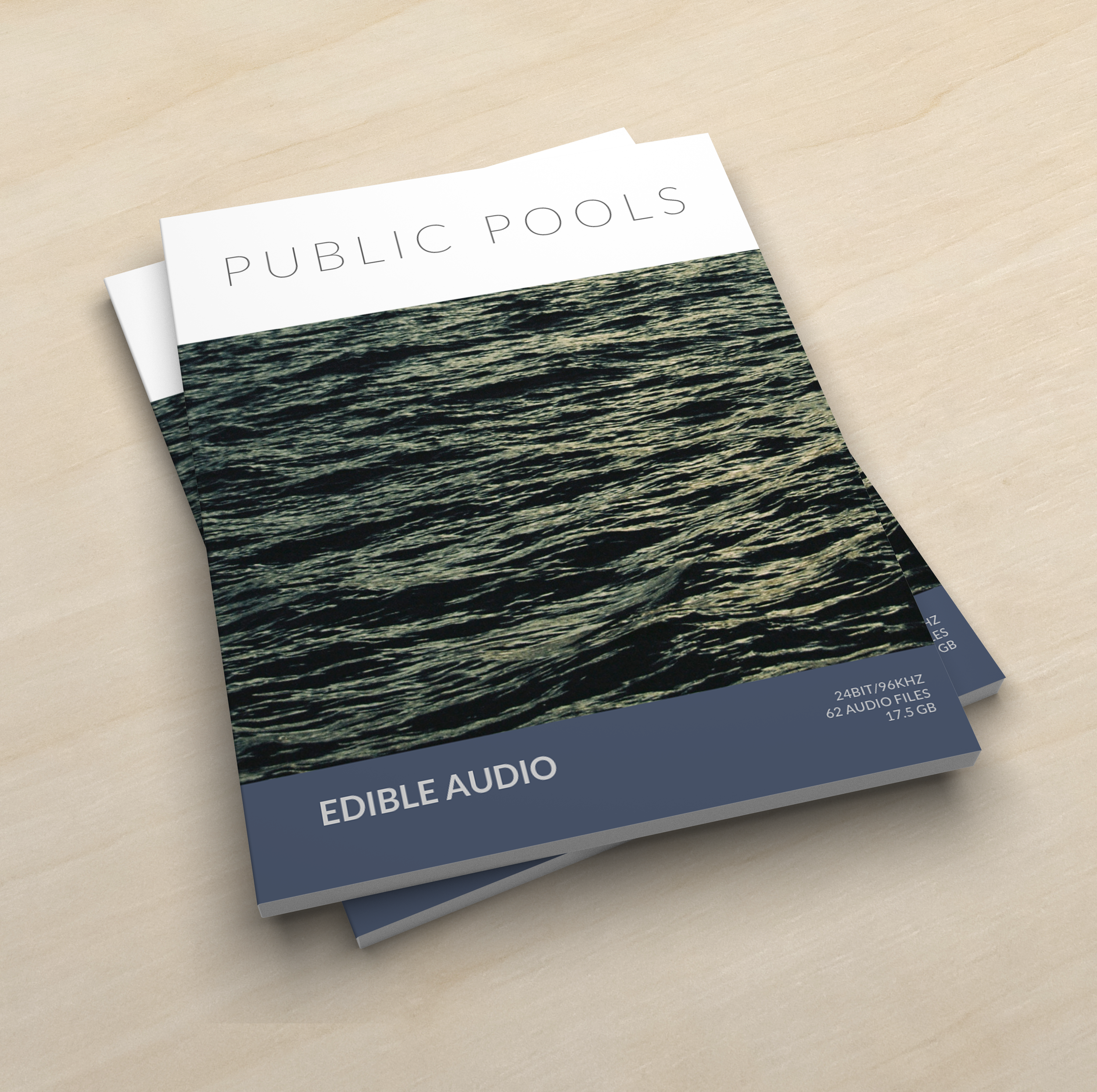 Public Pools - 24bit/96khz62 audio files17.5 GBAvailable in stereo or 5.0File/Metadata DescriptionEquipment used:Microphone: DPA 5100Recorder: Sound Devices 788T