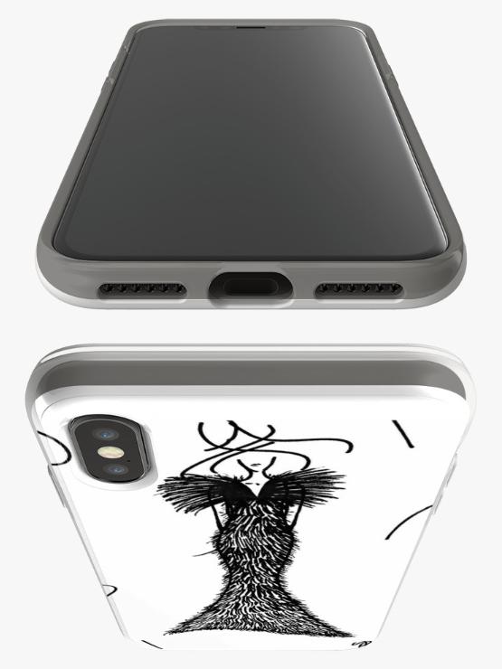 Fashion Illustration iPhone Case by VON SORELLA