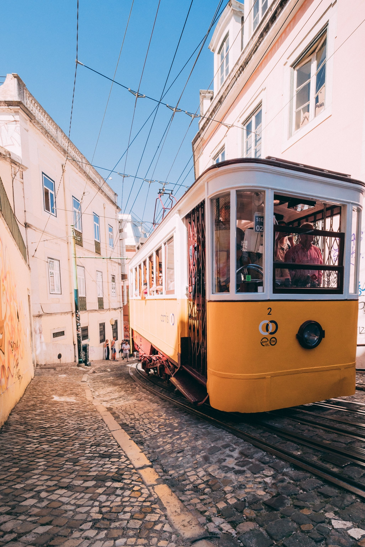 Lisbon, Portugal by Matthew Foulds via Unsplash