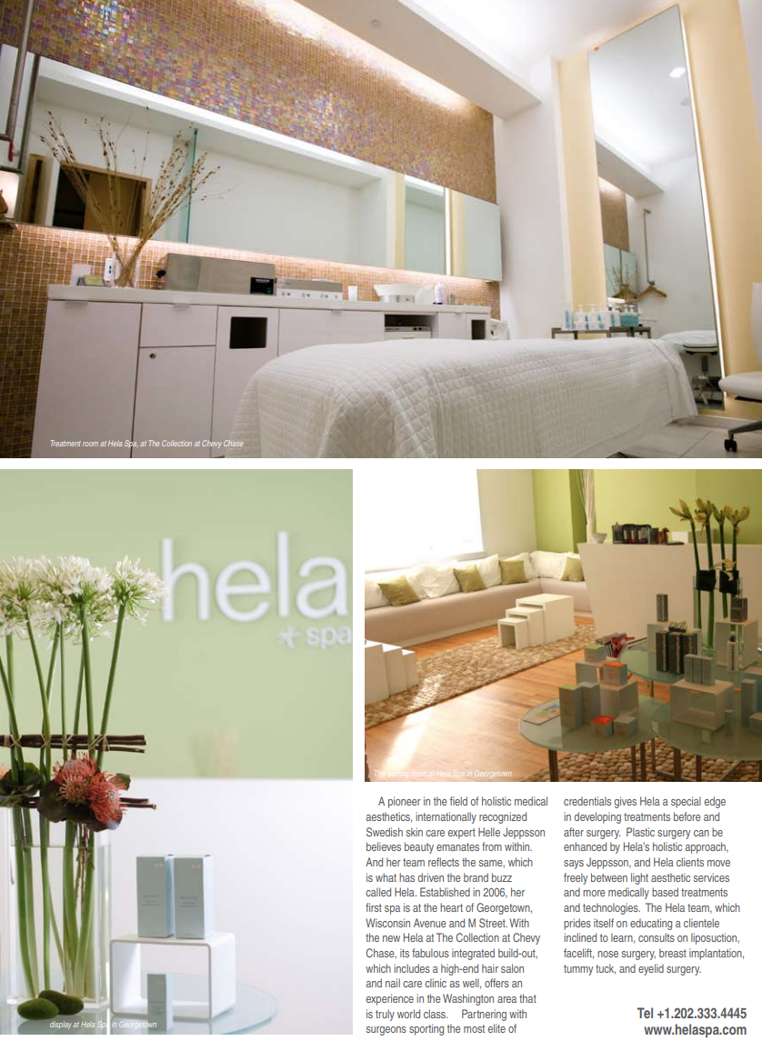 Best of DC Article about Hela Medical Spa in Georgetown Washington DC