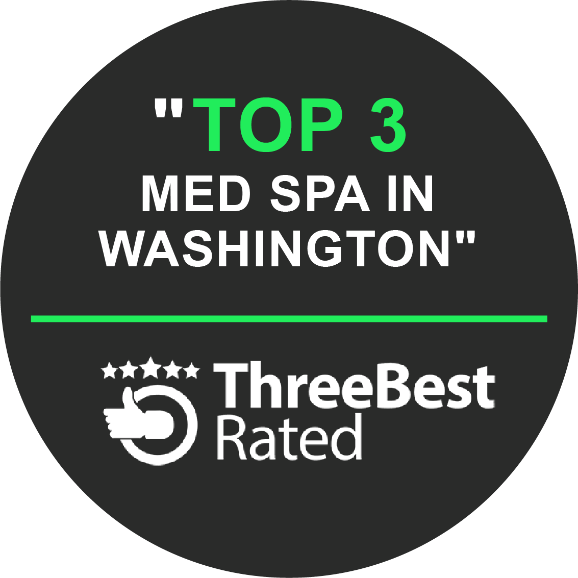 """Top 3 Med Spa in Washington"" by ThreeBest Rated"