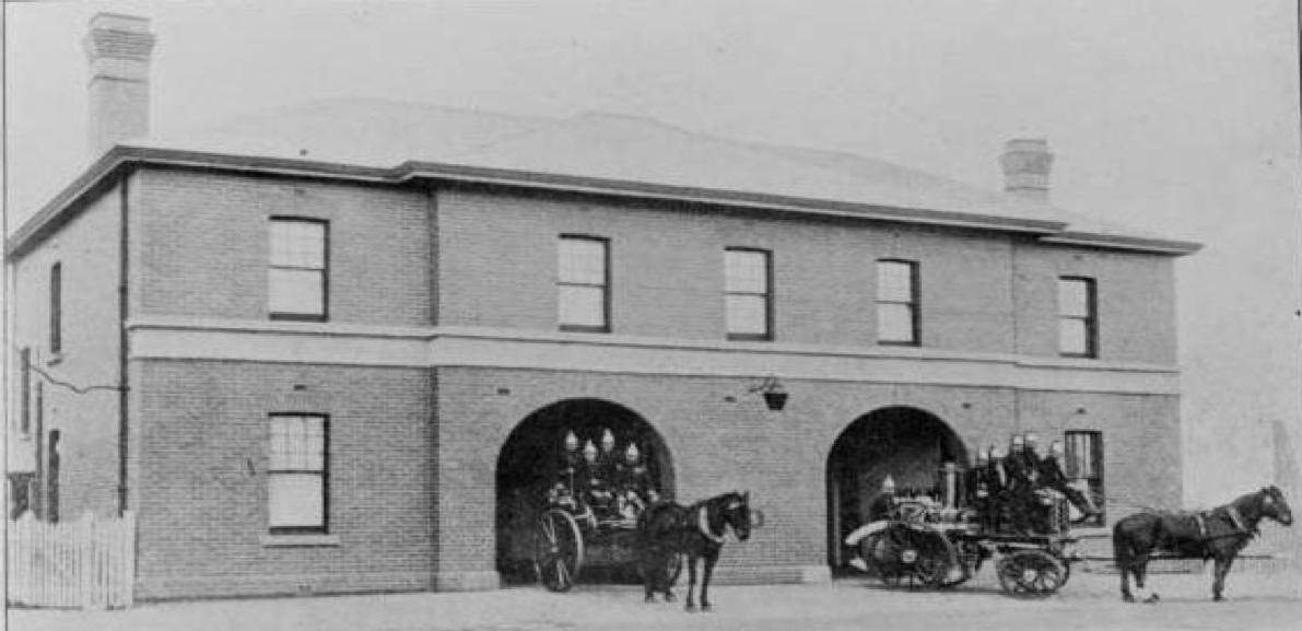 Newport Station c1907