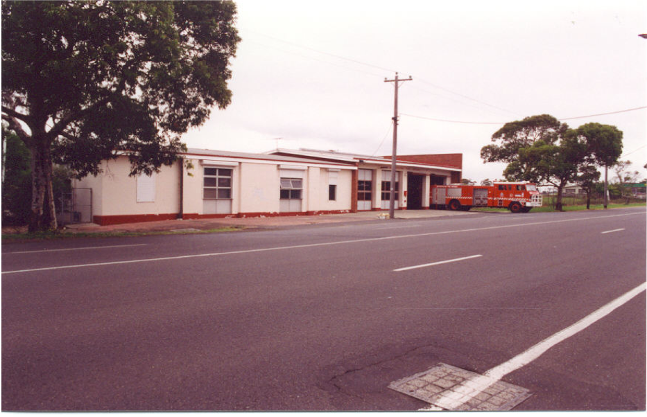 Newport Fire Station, 1992. Ian A. Munro personal collection.