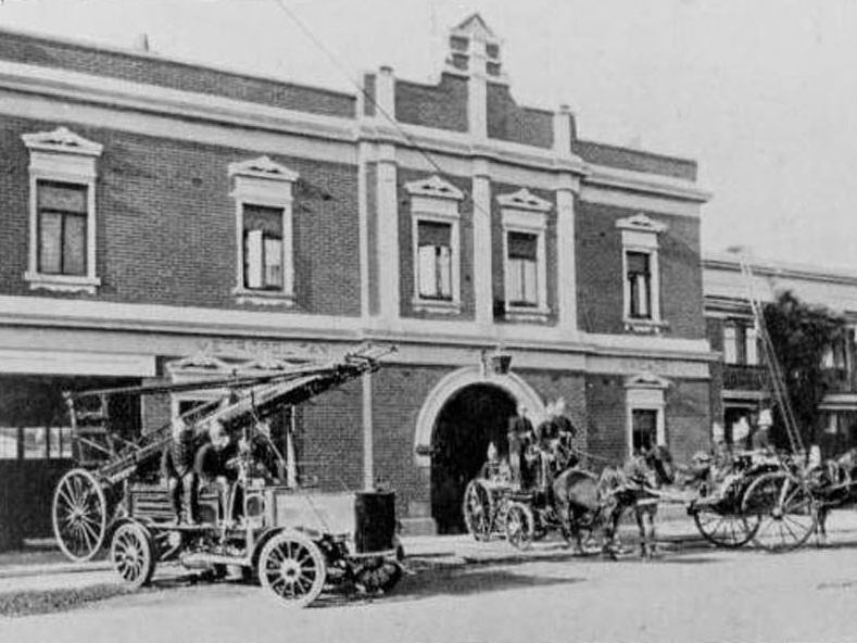 "What is now Windsor Fire Station No. 35 in the Metropolitan Fire Brigade's ""D"" District has its origins in the heart of Prahran."
