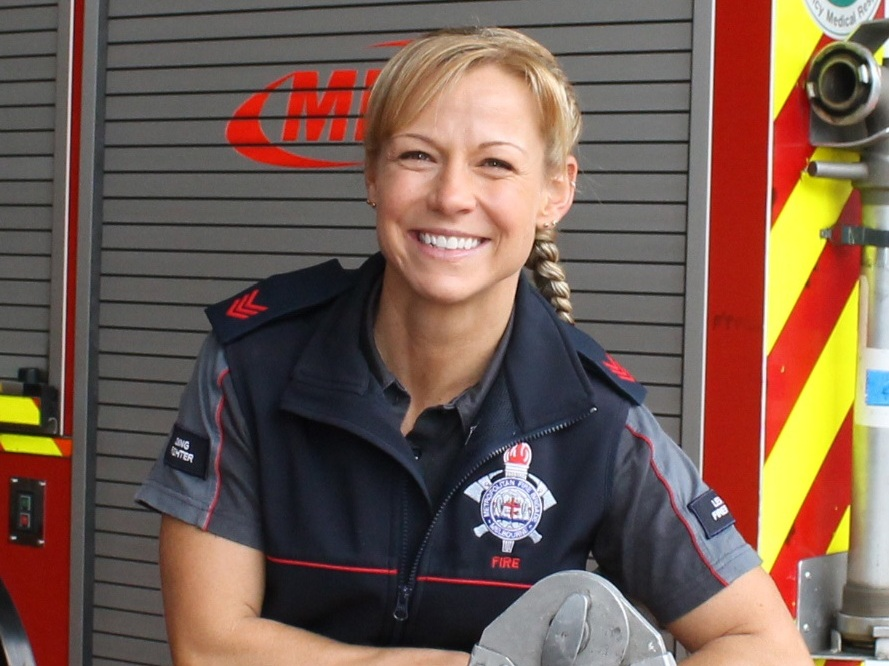 Becoming a firefighter was never something that crossed Kylie Evans' mind when considering a career. She performed well academically at school but…