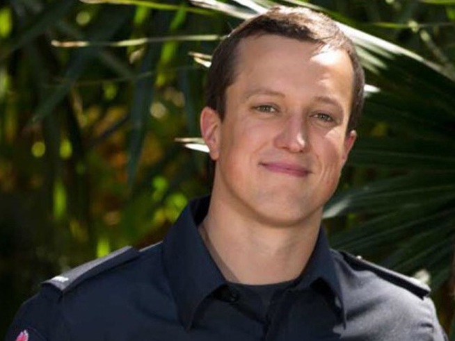 Guy Walker has not been a firefighter for very long, graduating as a new recruit in 2018, having followed in the footsteps of his mother, Trudy Walker.