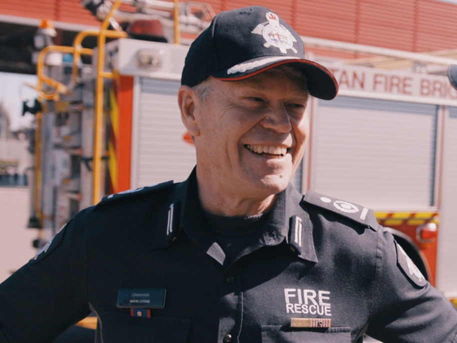 Mark Lyons joined MFB in 1988. He remembers about 4,000 people applying the year he did and recalls the challenging physical and theoretical testing process.
