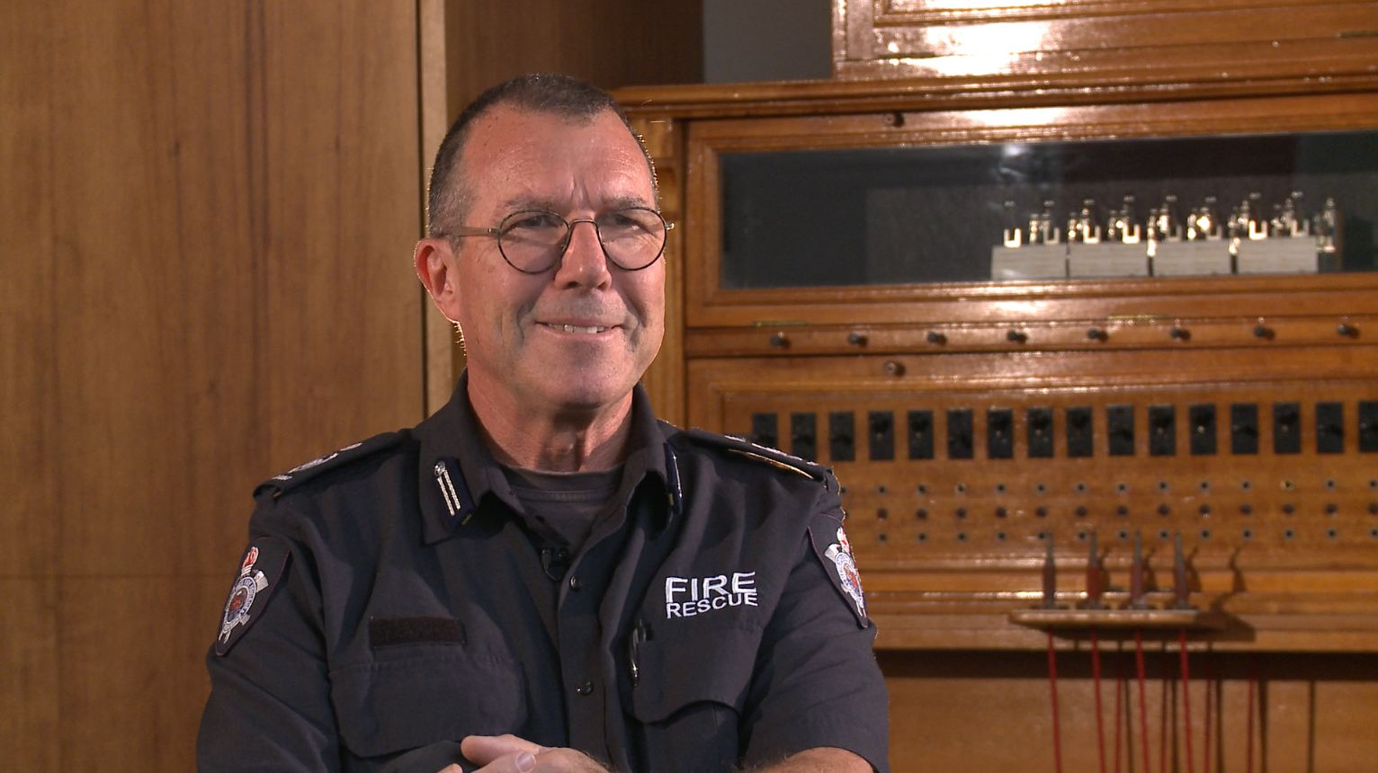 "Talking about men's health - Andrew Barratt, Commander Building Inspection & Compliance, shared how his son's decision to come out at age 16 changed his perspective of his own behaviours. Andrew said ""I'm not participating in this exercise because it's comfortable; I'm hoping this just makes people think a little."""
