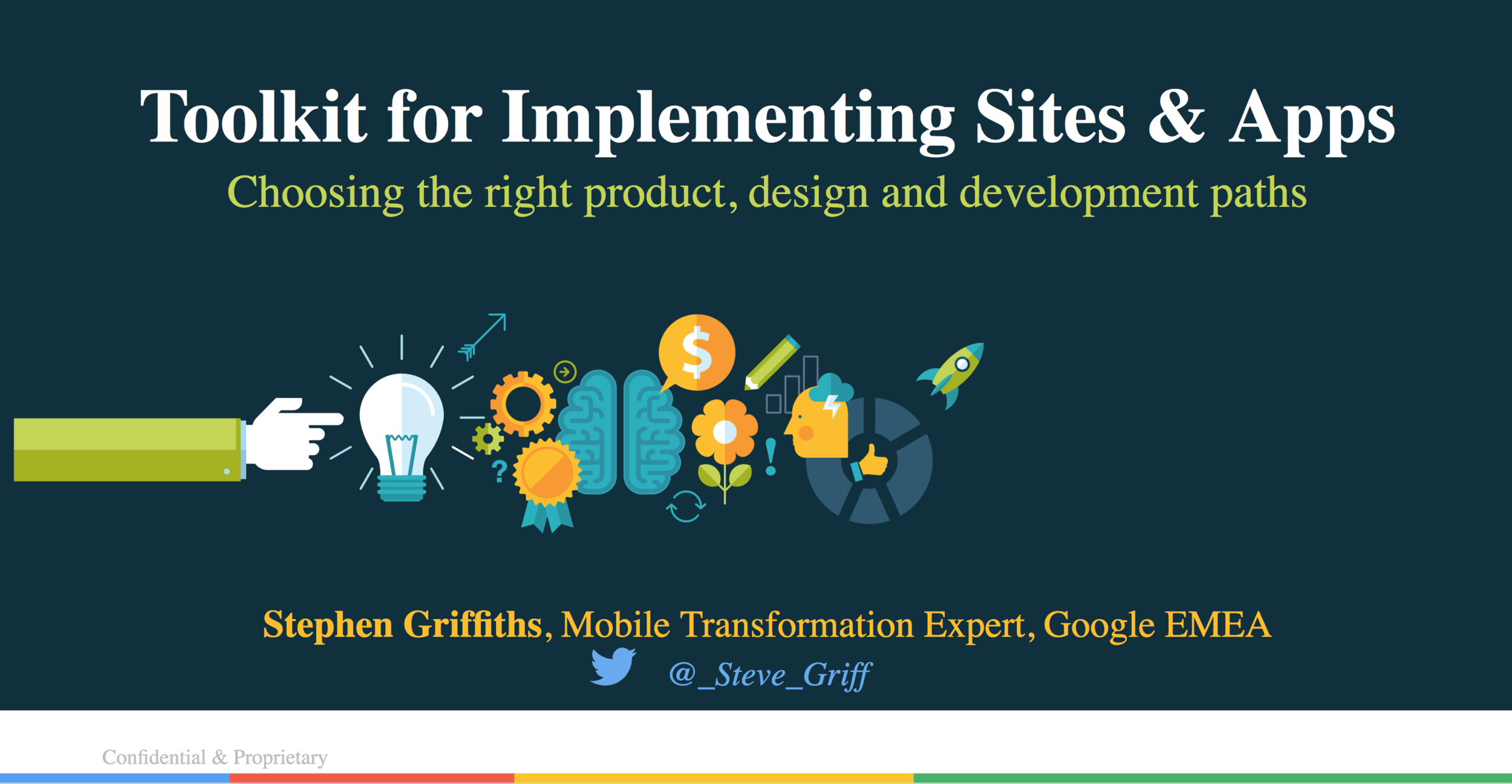 Toolkit for Implementing Websites & Mobile Apps